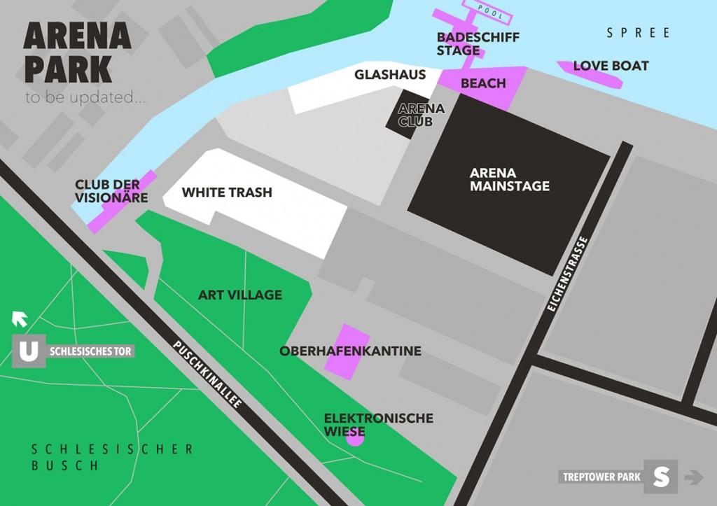 BERLIN FESTIVAL 2015 MAP
